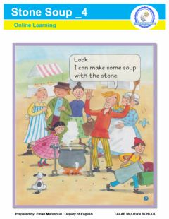 Interactive worksheet Stone Soup part 4