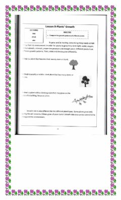 Interactive worksheet Plant growth and response