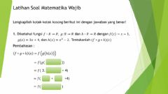 Interactive worksheet Fungsi Komposisi P3