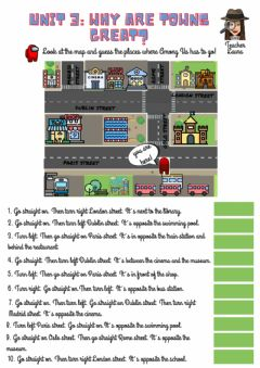 Interactive worksheet Unit 3:Why are towns great?