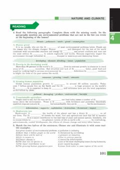 Interactive worksheet Nature and Climate