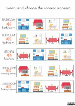 Interactive worksheet HOME 2nd grade