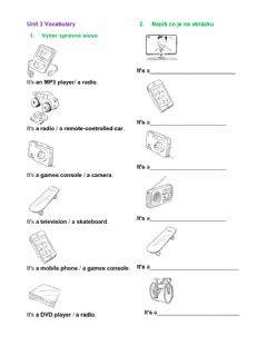 Interactive worksheet Project 1 Unit 3A