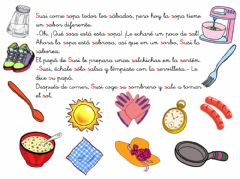 Interactive worksheet Cuento letra S