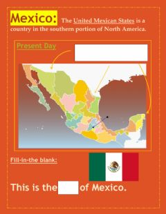 Interactive worksheet US-Mexican vocab