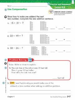 Interactive worksheet Lesson 4.2