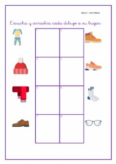 Interactive worksheet La ropa2