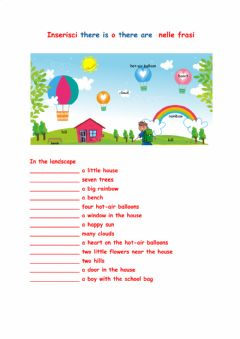 Interactive worksheet Landscape