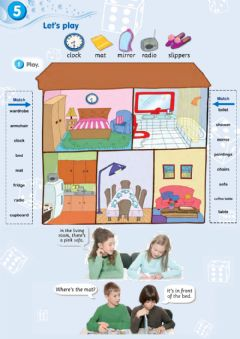 Interactive worksheet Smart Junior 3. Let's play 5. My new home