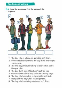 Interactive worksheet Project 4 - Unit 3A - exercise 6 - who is who