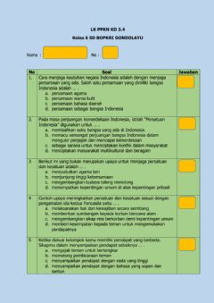 Interactive worksheet Lk ppkn kd 3.4