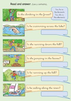 Interactive worksheet Nature trail 2