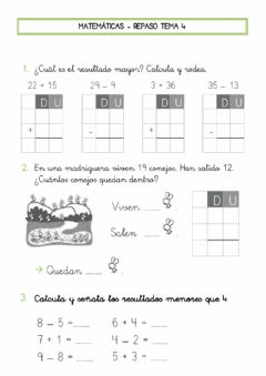 Interactive worksheet Ficha repaso tema 4