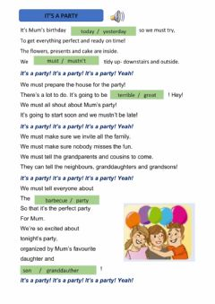 Interactive worksheet Amazing rooftops unit 3 song