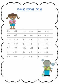 Interactive worksheet Bonds of 12 worksheet 2