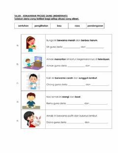 Interactive worksheet KPS Memerhati