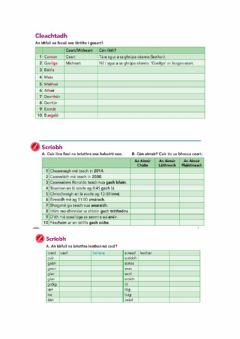 Interactive worksheet Turas 1
