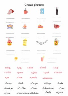 Interactive worksheet A piece of cake...