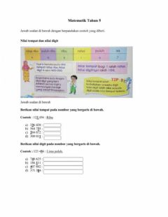 Interactive worksheet Latihan pengukuhan