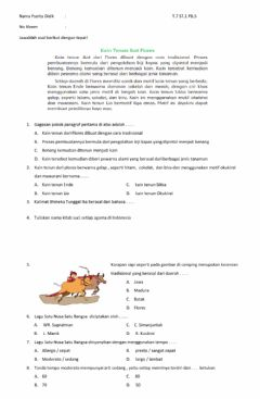 Interactive worksheet Lkpd t7st1pb5