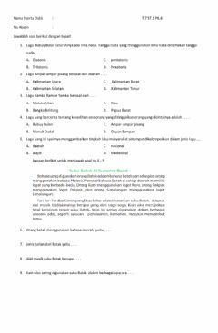 Interactive worksheet Lkpd t7st1pb6