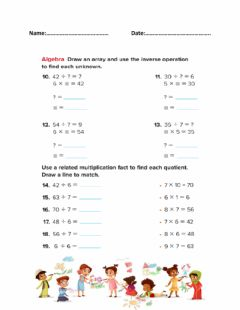 Ficha interactiva Divide by 6 and 7