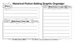 Interactive worksheet Historical Fiction Setting