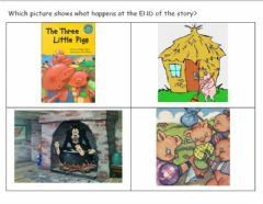 Interactive worksheet Story Elements Three LIttle Pigs 2