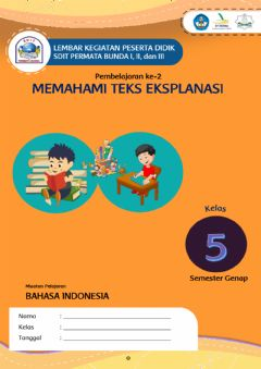 Interactive worksheet Teks Eksplanasi bag 2