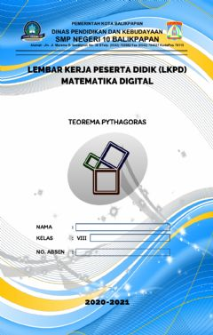 Interactive worksheet Lkpd digital matematika kelas 8