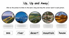 Interactive worksheet Up, up and away