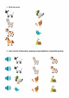 Interactive worksheet Animals and comparatives