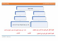 Interactive worksheet المخاليط 2