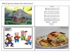 Interactive worksheet Story Elements Three LIttle Pigs 3