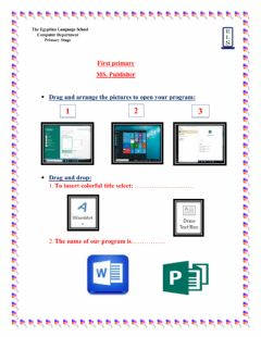 Interactive worksheet Worksheet 5