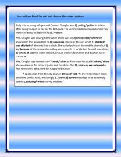 Interactive worksheet Active or Passive Voice