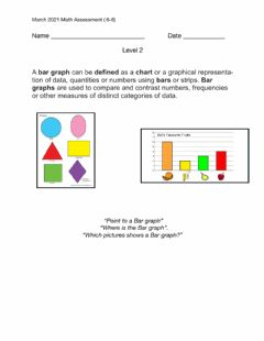 Interactive worksheet March 2021 Math (6-8) Assessment level 2