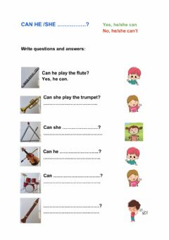 Interactive worksheet The talent show