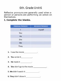 Interactive worksheet Rflexive pronouns