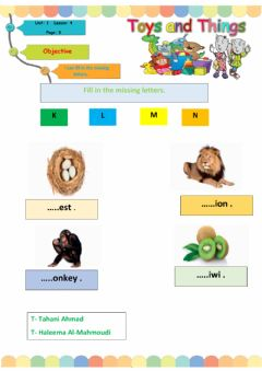 Interactive worksheet We can 2