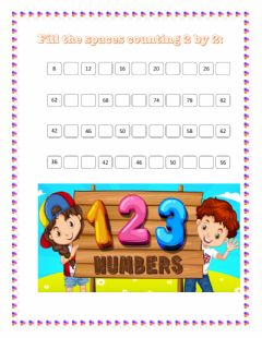 Interactive worksheet Sequences