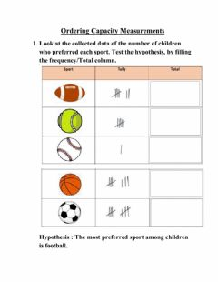 Interactive worksheet Testing a hypothesis
