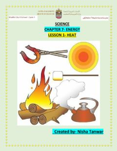 Interactive worksheet Chapter 7 lesson 1 HEAT