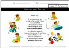 Interactive worksheet Get smart plus 3 M2 L17 W1
