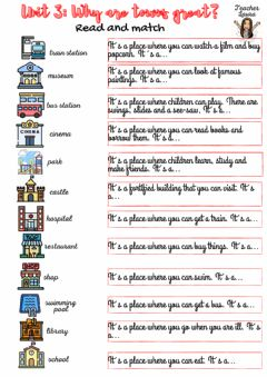 Interactive worksheet Why are towns great?
