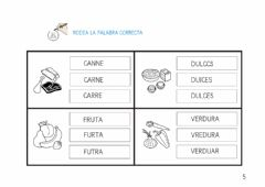 Interactive worksheet U.d. los alimentos