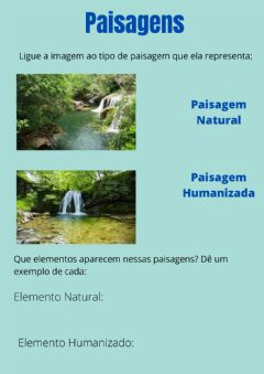 Interactive worksheet Paisagem