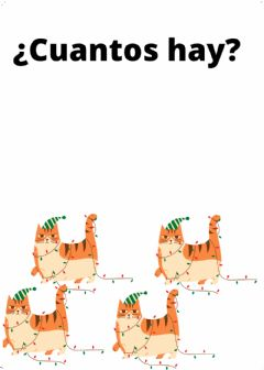 Interactive worksheet Cuantos gatos hay