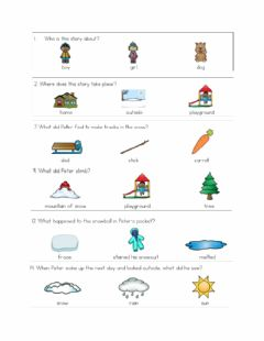 Interactive worksheet Snowy Day