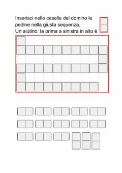 Interactive worksheet Domino per calcoli